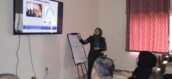 دورة تدريبية بعنوان Biomechanical Consideration in contruction of F. P. D